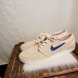 Nike lunarlon skate board tennis shoes